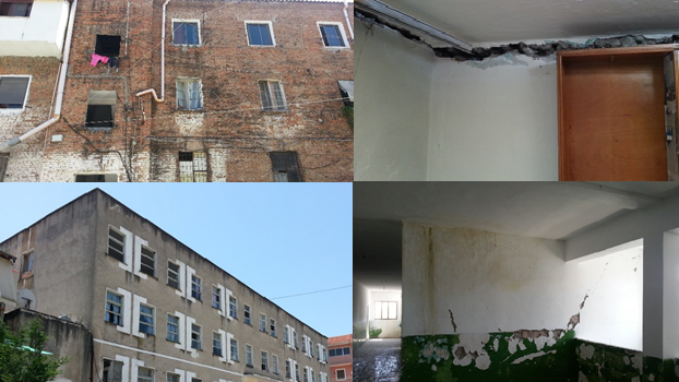 Site visit in Cerrik and Belsh; Inspection of damages from earthquake