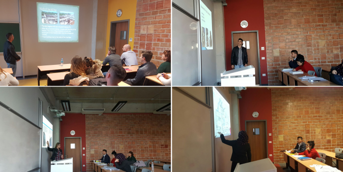 Third year students had their Summer Presentations