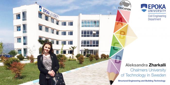 Aleksandra Zharkalli: Civil Engineering student admitted in the master program in Sweden