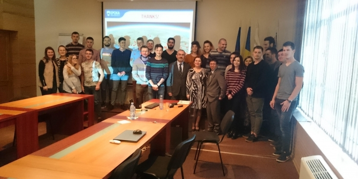 Assoc Prof. Dr. Huseyin Bilgin gave lectures to the Civil Engineering students of