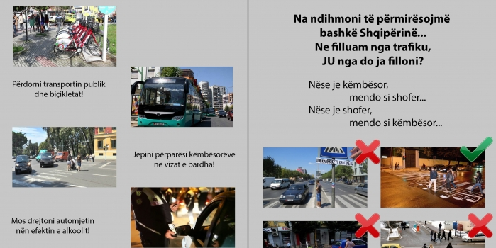 Analysis of  '21 Dhjetori' intersection in terms of traffic conditions