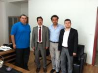 Head of Business Administration Department, Assist. Prof. Dr. Mustafa Üç visited Yalova University