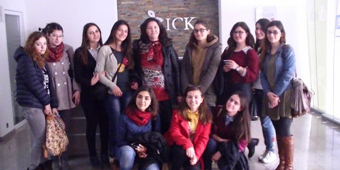 Visiting Innovation Center of Kosovo, Pristine.