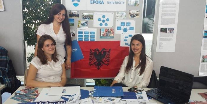 Business Students presents Epoka University