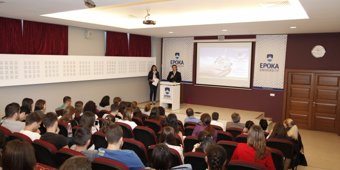 """Epoka Student Conference on """"Challenges of Innovative Enterprises in the Global Competitive Market"""