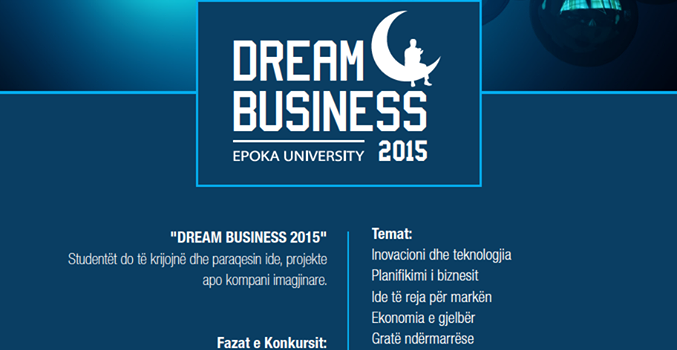 DREAM BUSINESS 2015, Third International Competition among High School Students