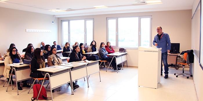 Guest Lecturer: Mr. Dritan Osmani