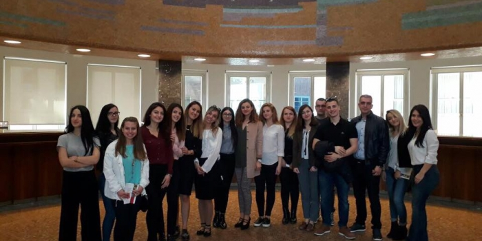 Economics Students Visited Central Bank of Albania