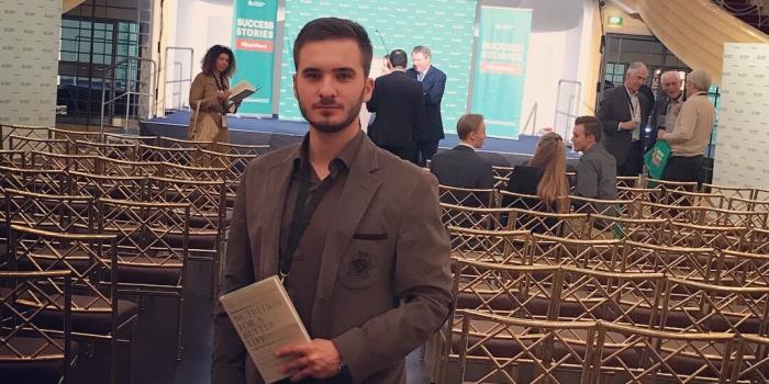 Economics Graduate Taulant Kastrati Pursuing Master's at EU Business School