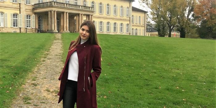 Economics Graduate Mirza Berdica Studying at Hohenheim University