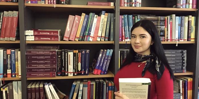 Elvira Meti, Epoka Graduate, Now Studying at Charles University