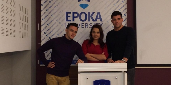 The students of Epoka University passed to the final stage of