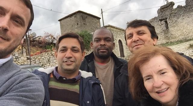 Visiting the city of Berat