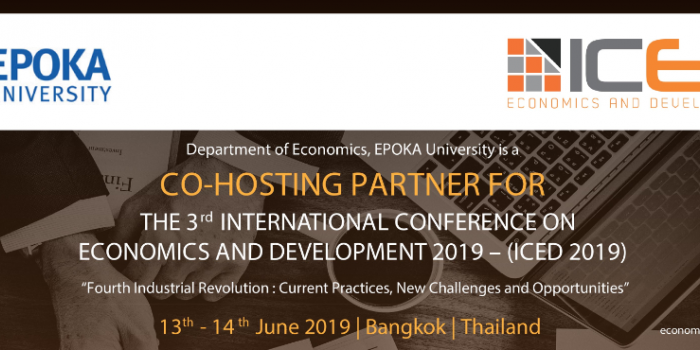 Epoka University | Call for Papers: The 3rd International Conference