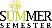Information regarding Summer Semester