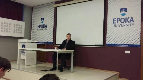 Open Forum with Mr.Pajtim Cenga, Civil Engineer