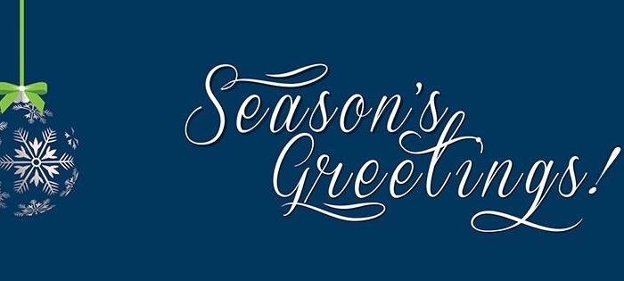 Season's Greetings...