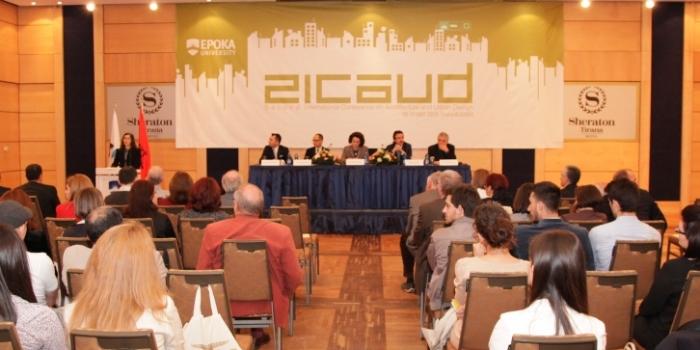 Universiteti Epoka organizoi Konferencën e Dytë Ndërkombëtare në Arkitekturë dhe Projektim Urban – ICAUD 2