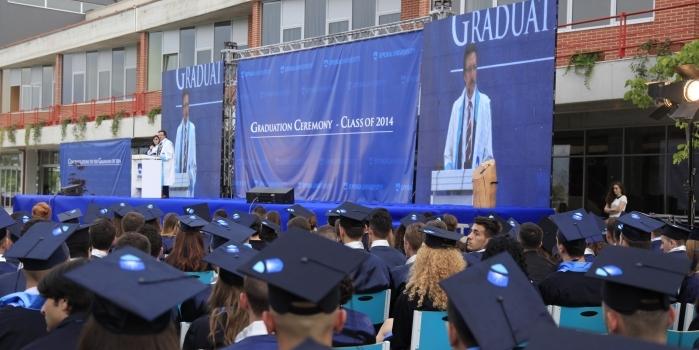 Epoka University organized the Graduation Ceremony of the fourth generation students