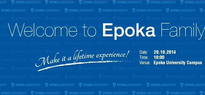 Welcome to Epoka Family!