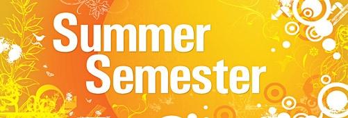 Beginning of Summer School