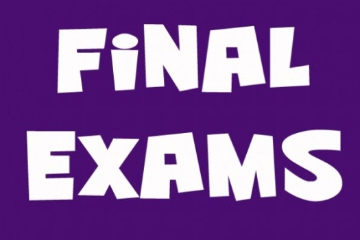 Announcing the Final Exams for Spring Semester