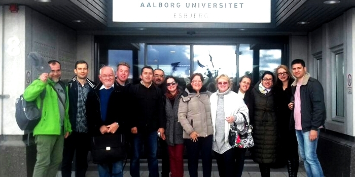 """The next meeting of the Erasmus+ project """"Knowledge FOr Resilient soCiEty"""" held in Aalborg and Esbjerg, Denmark"""