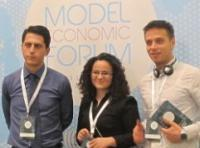 A group of students and staff members of BAF participated at the Model Economic Forum in Istanbul