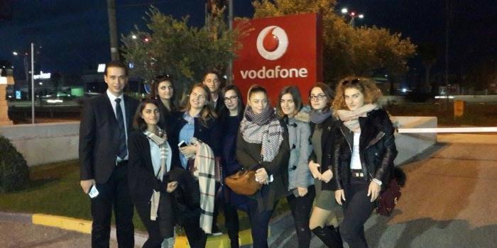 Vizita të Studentëve në Kompani - Vodafone Albania