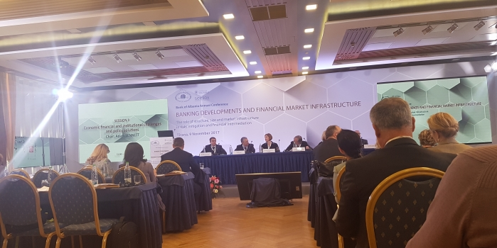 Banking and Finance Department Participates in the Annual Conference Organized by Bank of Albania