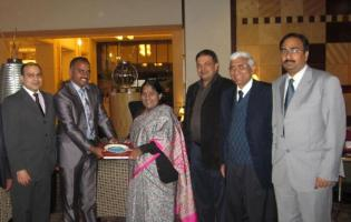 Indian Ambassador Welcomed
