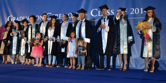 Epoka University organized the Graduation Ceremony of the fourth generation students
