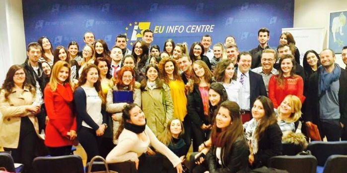 Two third year students from Epoka University, in the Department of Political Science and International Relations participated in the