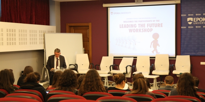 Leading the Future Workshop, 18th of April 2018