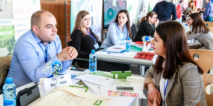 Epoka University organized the Third Career Fair