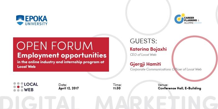 Local Web- Open Forum