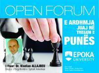 FORUM : Dr.Klodian Allajbeu