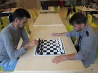 Erzan Hylli, student of Banking and Finance wins Epoka Chess Tournament