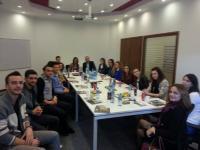Perfaqesues te Klubit te Sipermarresve vizituan kompanine Albtelekom dhe Eagle Mobile