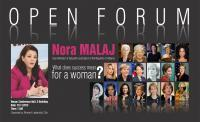 Nora Malaj, Open Forum
