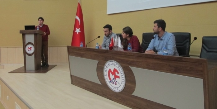 Future Engineers Club members participated at the workshop organized together with the Civil Engineering Club at Erciyes University