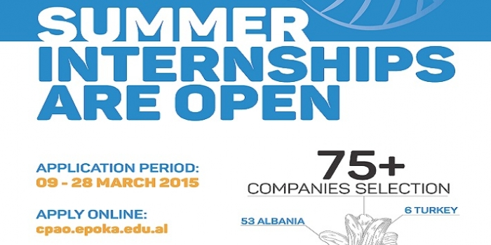 Summer_Internship_Applications_for_2015_STARTED! Apply now!