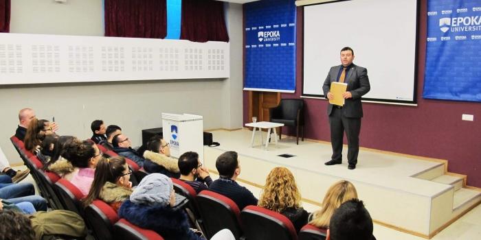 Info session with Mr.Faton Bislimi
