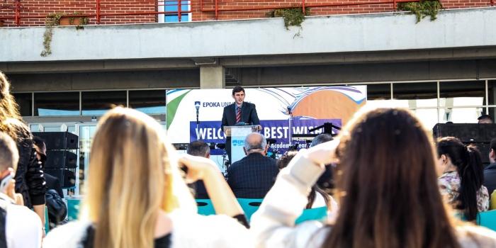 Epoka University Holds Opening Ceremony for 2016-2017 Academic Year