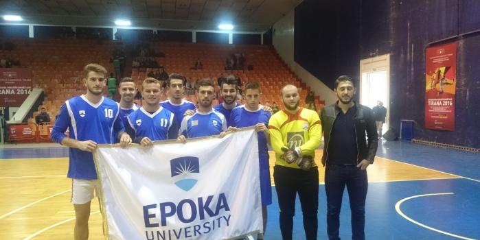 """Universiteti """"Epoka"""" Fitoi vendin e Dytë në universiadën, Tirana 2016"""