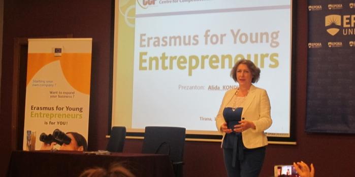 Open Forum: Erasmus for Young Entrepreneurs