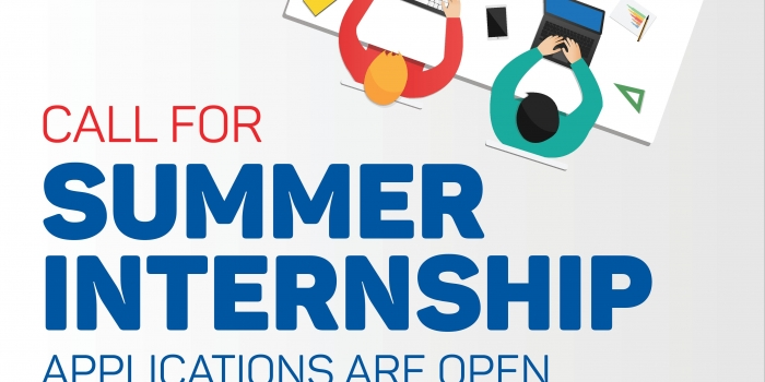Summer Internship Applications for 2017 STARTED! Apply now!
