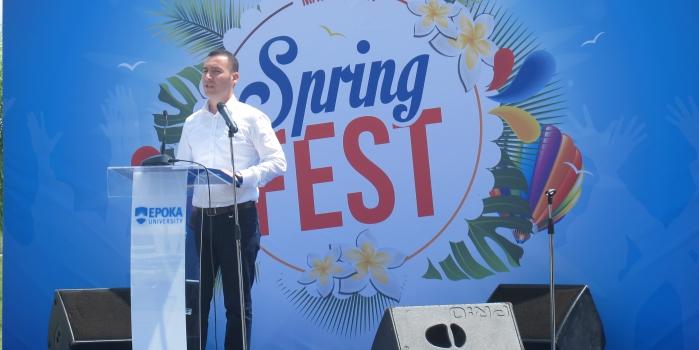 Epoka University organized the Spring Fest 2017