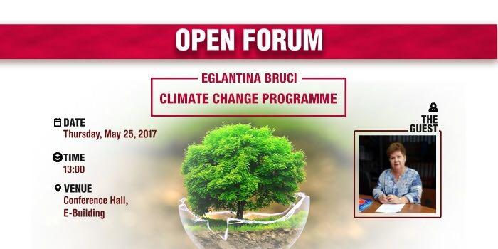 Climate Change: Eglantina Bruci