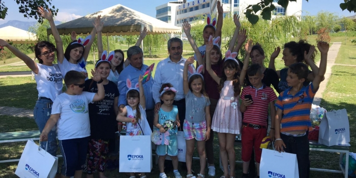 The Sensitive Society Club Celebrated the International Children's Day with Orphans